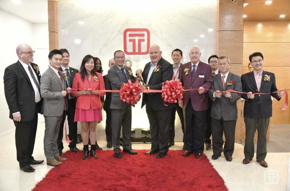 OTT opened a branch office in Markham, Ontario